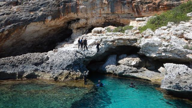 Adventure and Snorkeling Trip to Mallorcas Pirate Cave