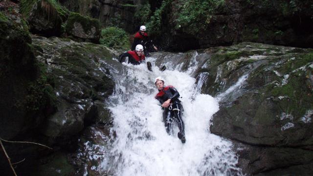 Faszinierendes Canyoning Abenteuer in Amden