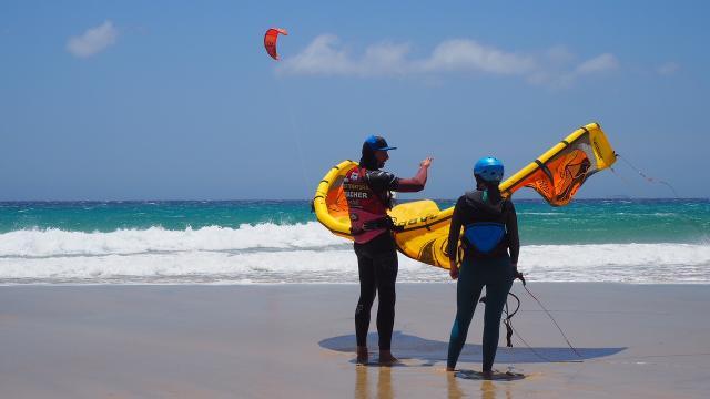 Kitesurfing advanced course on Fuerteventura