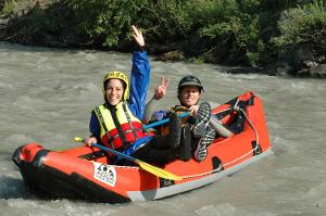 Unforgettable great moments: Tandem Rafting - Only you and our guide
