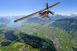 Unvergessliche großartige Momente: Rundflug mit atemberaubendem Blick auf die Schweizer Alpen