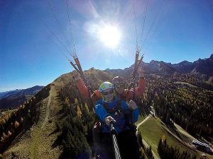 Unforgettable great moments: Fantastische Wanderung und Paragliding Tandemflug am Berg Hauser Kaibling