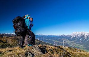 Unvergessliche großartige Momente: Wunderbare Wanderung und Paragliding Tandemflug am Berg Hauser Kaibling