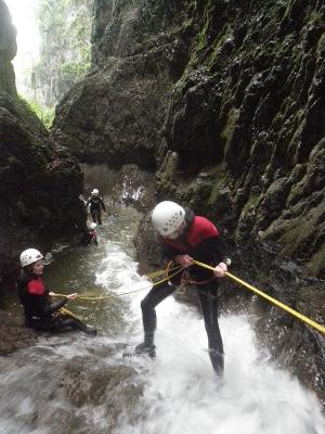 Unforgettable great moments: Fascinating Canyoning Adventure in Amden