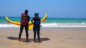 Unvergessliche großartige Momente: Kitesurfing Fortgeschrittenenkurs auf Fuerteventura