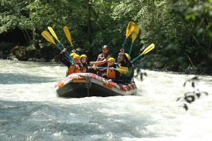 Unforgettable great moments: Easy rafting tour for everyone in Interlaken