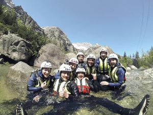 Unvergessliche großartige Momente: Alpines Canyoning Erlebnis bei Interlaken