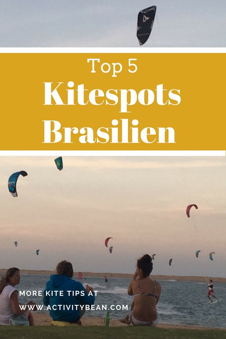 Finde die 5 besten Kite Spots in Brasilien