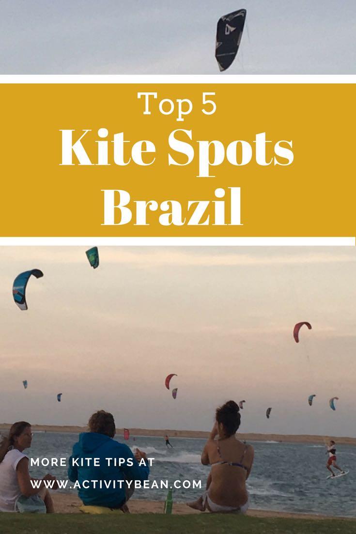 Find the 5 best kite spots in Brazil