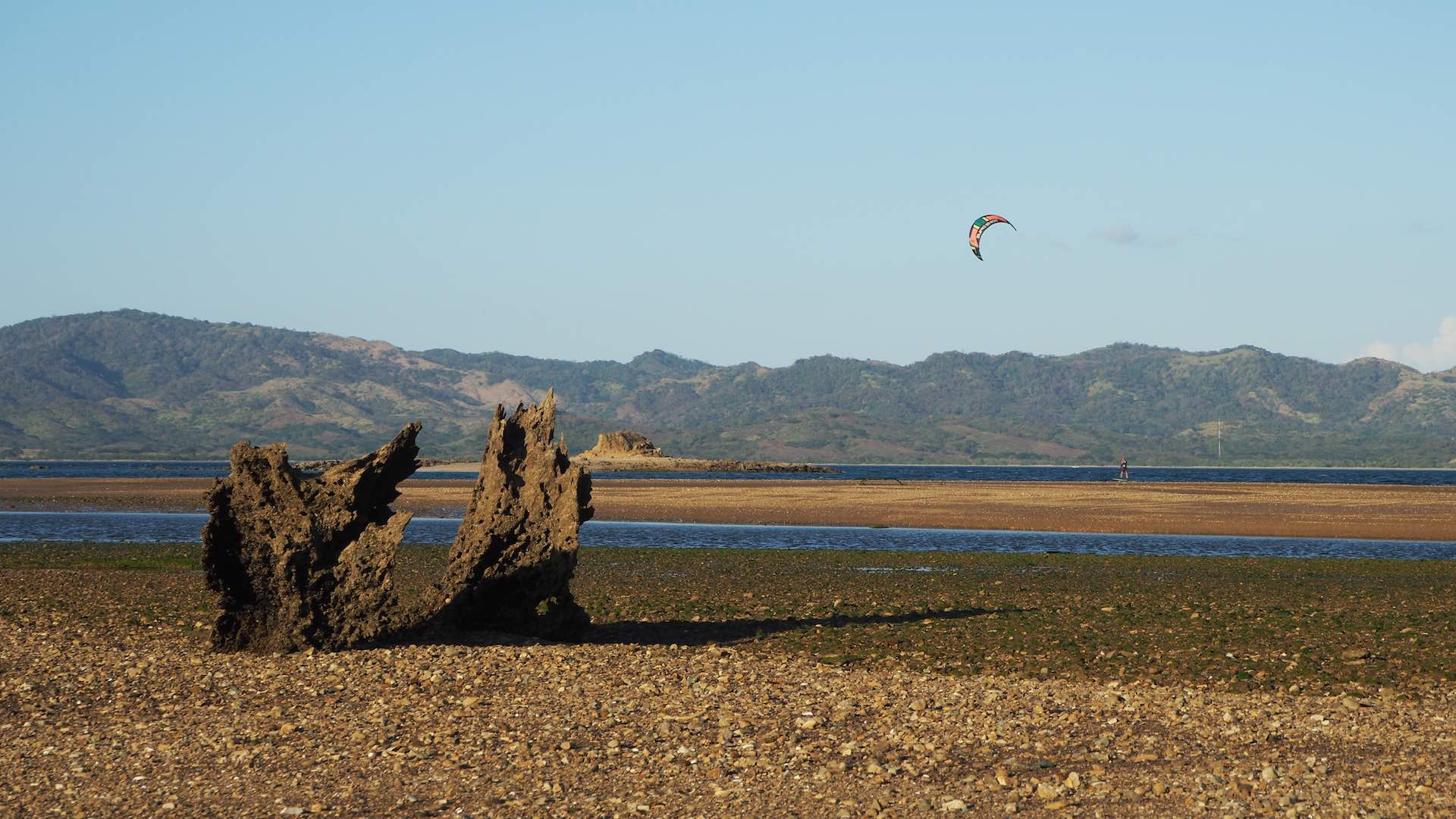 Bahia de Salinas, as well perfect for foil kitesurfing