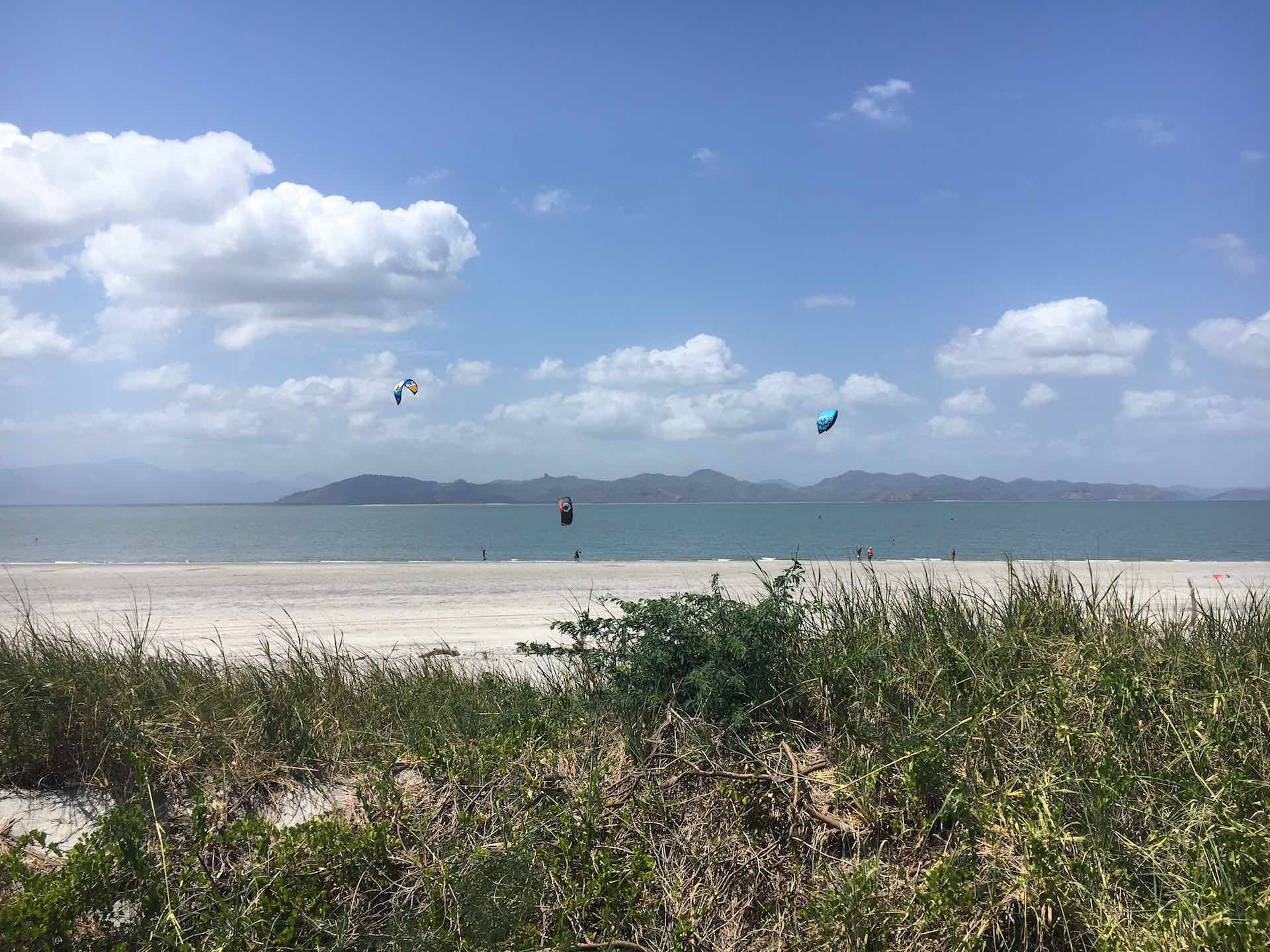 Punta Chame is the most famous kitesurfing spot in Panama