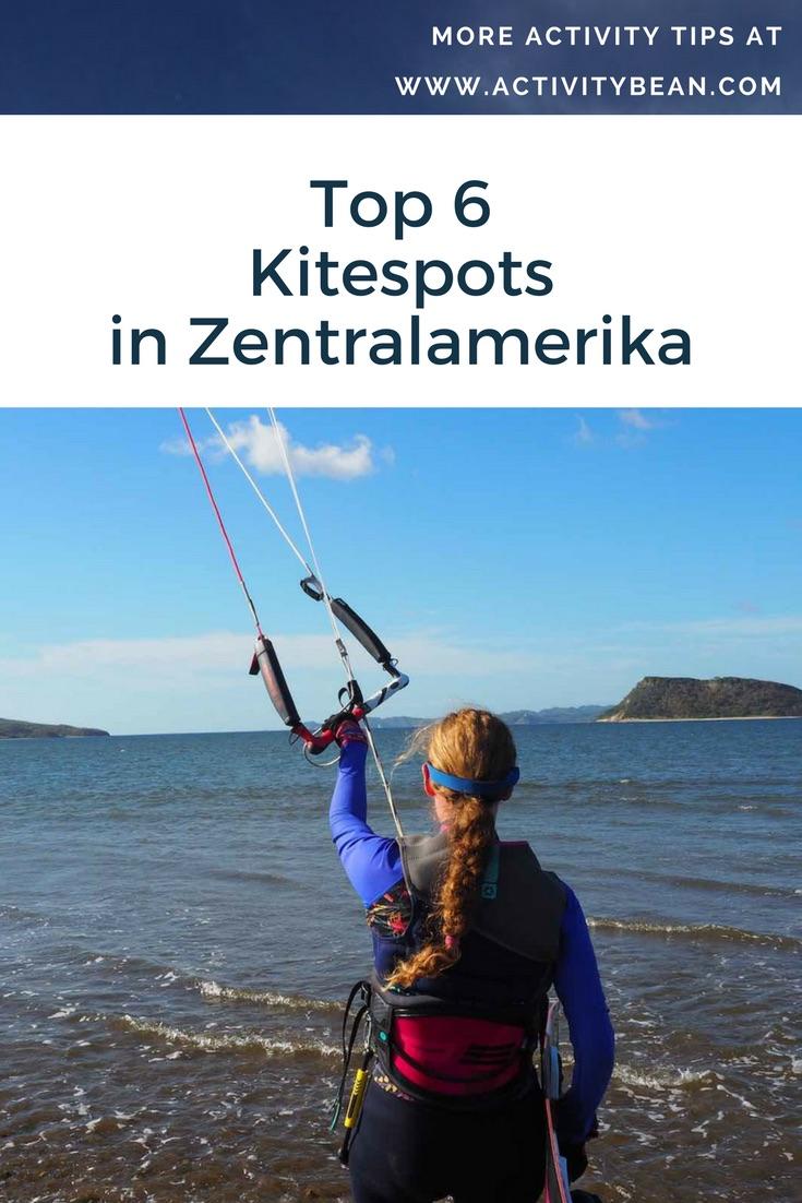 Finde die 6 besten Kite Spots in Zentralamerika