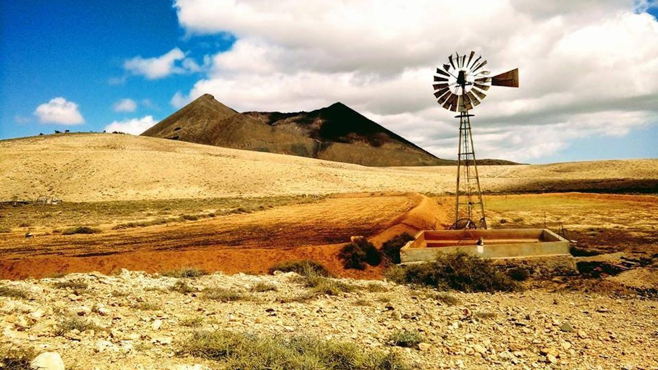5th place: volcanic landscape of Fuerteventura